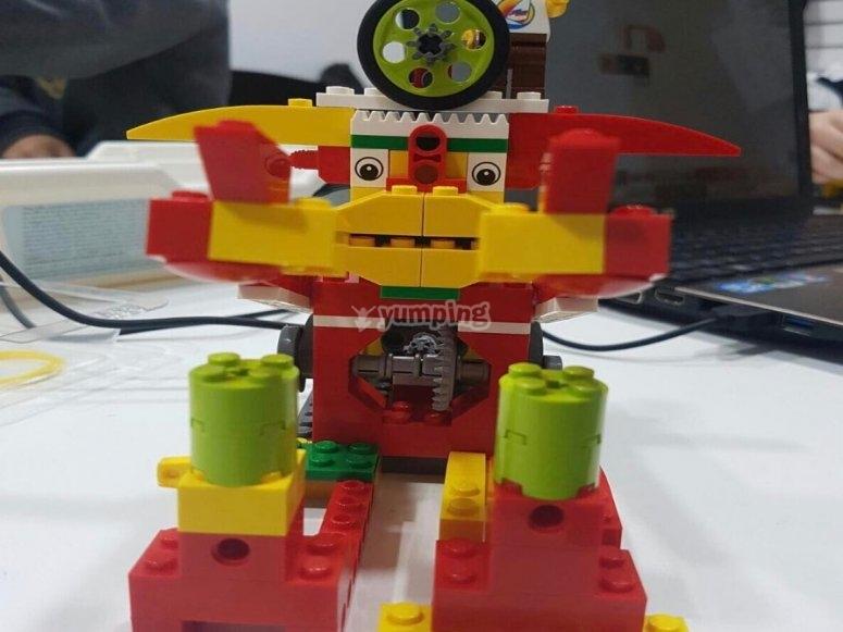 Impara la robotica nel campo di Mérida