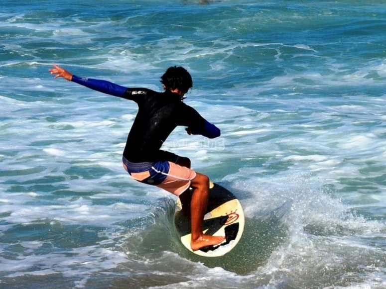 Be a professional surfer