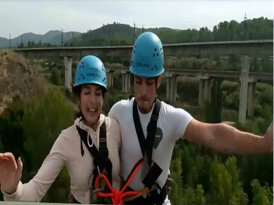 Bungee jumping Tandem per coppie a Barcellona