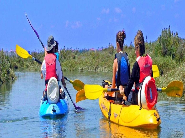 Alquiler de kayak en Isla Cristina