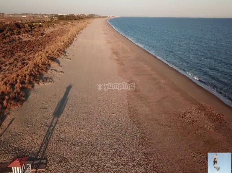 Pasea por el litoral de Huelva