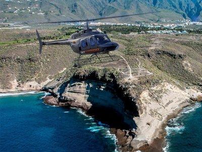 Volar en helicóptero en Gran Canaria costa del sur