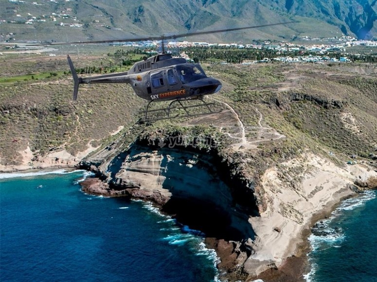 Helicopter flight session