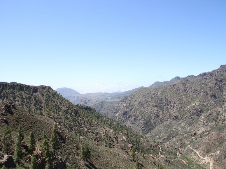 Sights of Gran Canaria from above