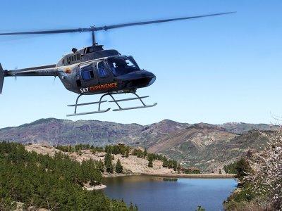 Valli e dighe di volo in elicottero Gran Canaria