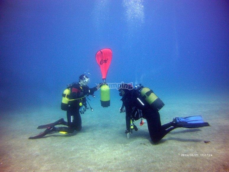 Ejercicios subacuaticos