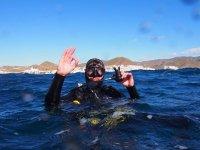 Bautismo de buceo en Carboneras, 3 horas