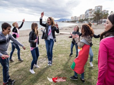 Despedida de soltera gymkana, cena  y disco Málaga