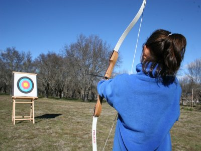 1h of Archery in Cercedilla's pine forest