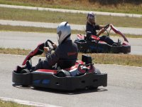 On the karts