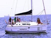 sal a navegar en familia