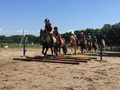 Campo equestre a Vall d'en Bas una settimana