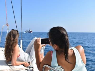 Paseo en velero Costa de la Luz con aperitivo