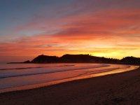 Ruta en lancha en Ribadesella para ver amanecer