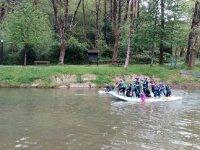 Paddle sur por el río