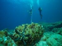 Bajo el agua en Mallorca
