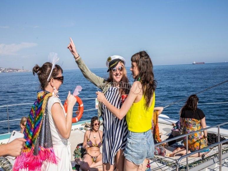 Baila a bordo en Marbella