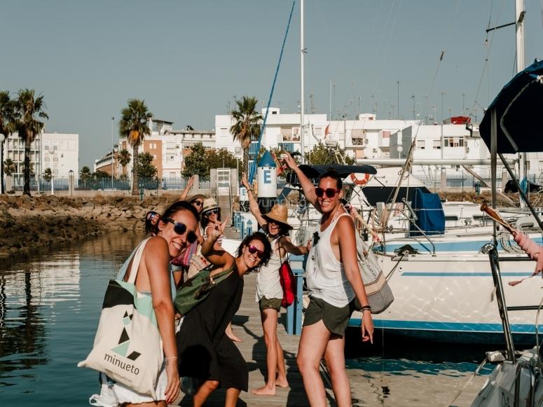 Celebrazione ragazze a Huelva