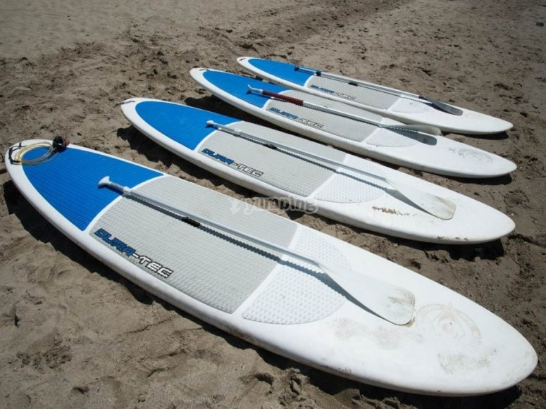 Material para hacer paddle surf