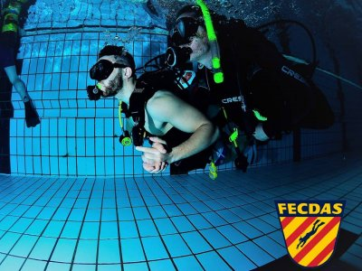 Diving Baptism in Pool - Barcelona City Center