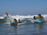 Dispuestos a surcar las olas