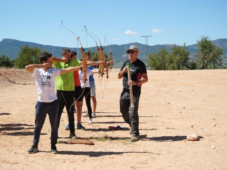 Practica tiro con arco