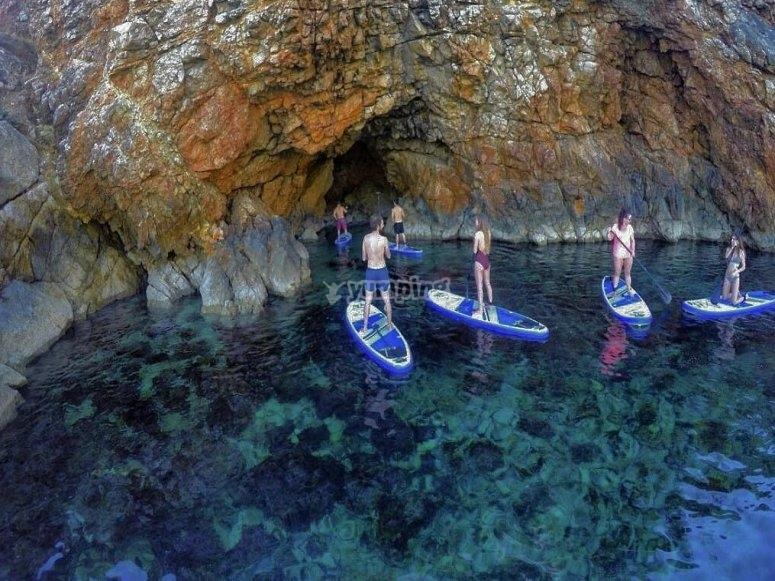 Visita las cuevas ibicencas