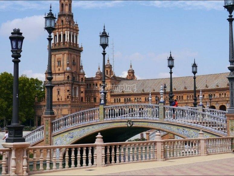 Puente de la Plaza de Espana
