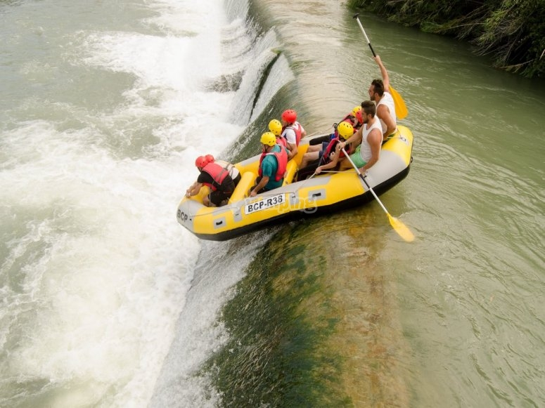 Rafting and bachelor party