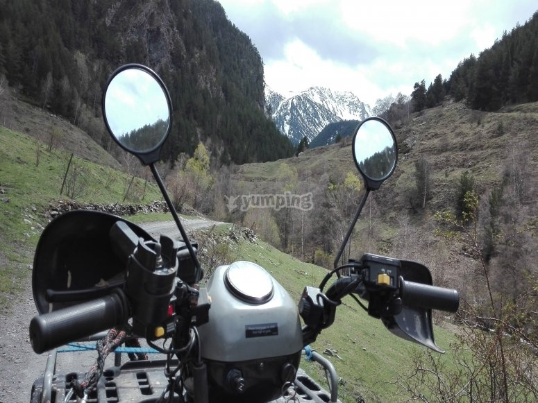 Conduce un quad en Andorra