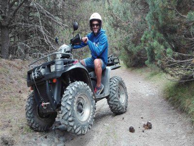 Quad Excursion in Port de Cabús, 1 Hour