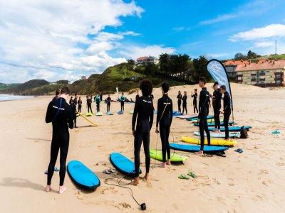 Campamento surf San Vicente de la Barquera 7 días