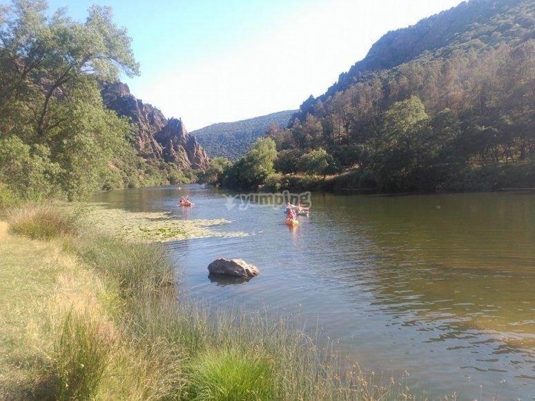 Descubre El Pielago en kayak
