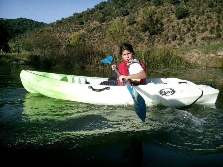 Kayak para toda la familia
