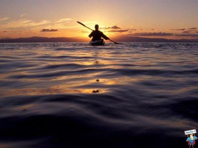 Peralvillo的单独皮划艇租赁服务1小时