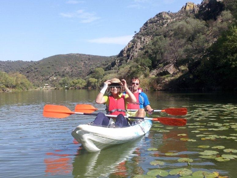 Kayak biplaza en Ciudad Real