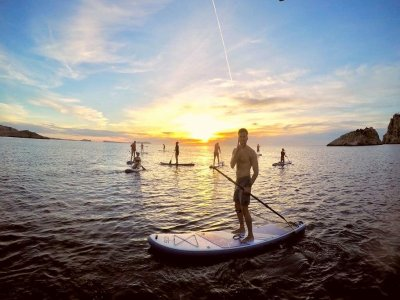Paddle Surf Rental in North Ibiza, 1 Hour