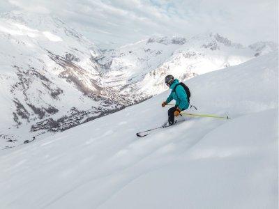 Campamento de esquí en los Alpes franceses 8 días