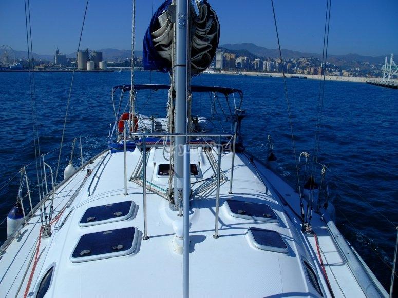 Barco velero para despedida de soltero
