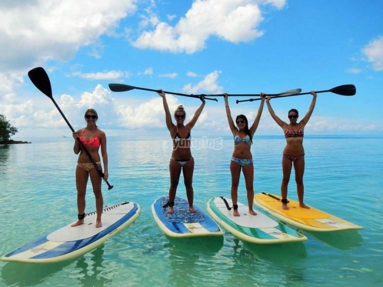 Aprende a moverte en Paddle Surf