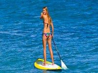 Practica Paddle Surf en Almería