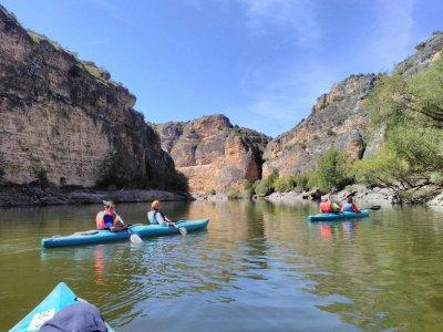 Canoe Route Through Duratón River, 3h