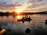 Kayak triplaza en El Pielago