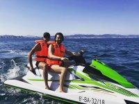 Moto de agua para dos en Barcelona
