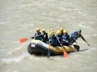 Descenso de rafting río Genil