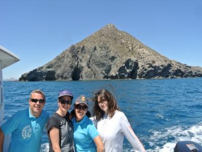 Gita in barca sulla costa murciana 2 ore