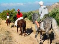 paseo a caballo por Cerceda de Burgos