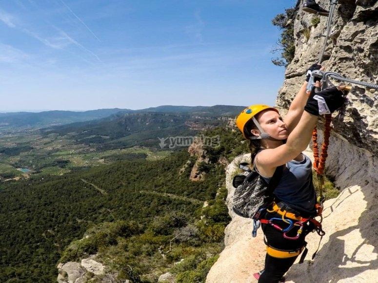 Disfruta escalando en Vilafranca