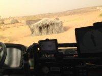 foto desde el camion