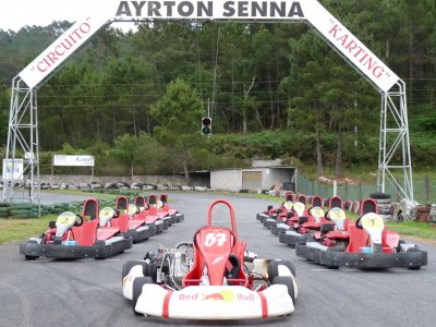 Karting Session in A Coruña, 21 Minutes